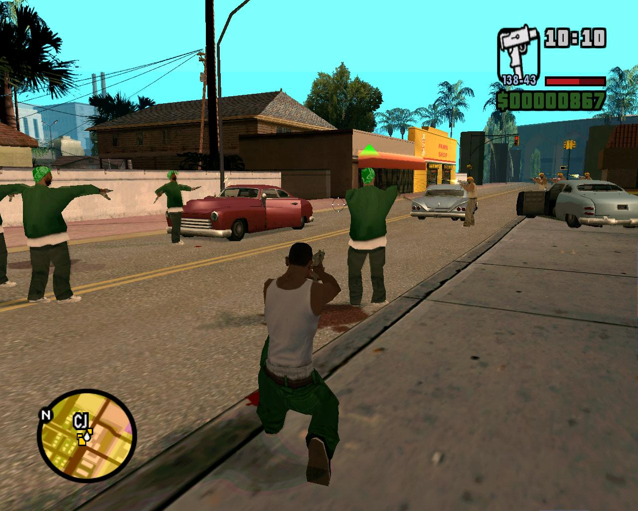 Image result for grand theft auto san andreas gang wars