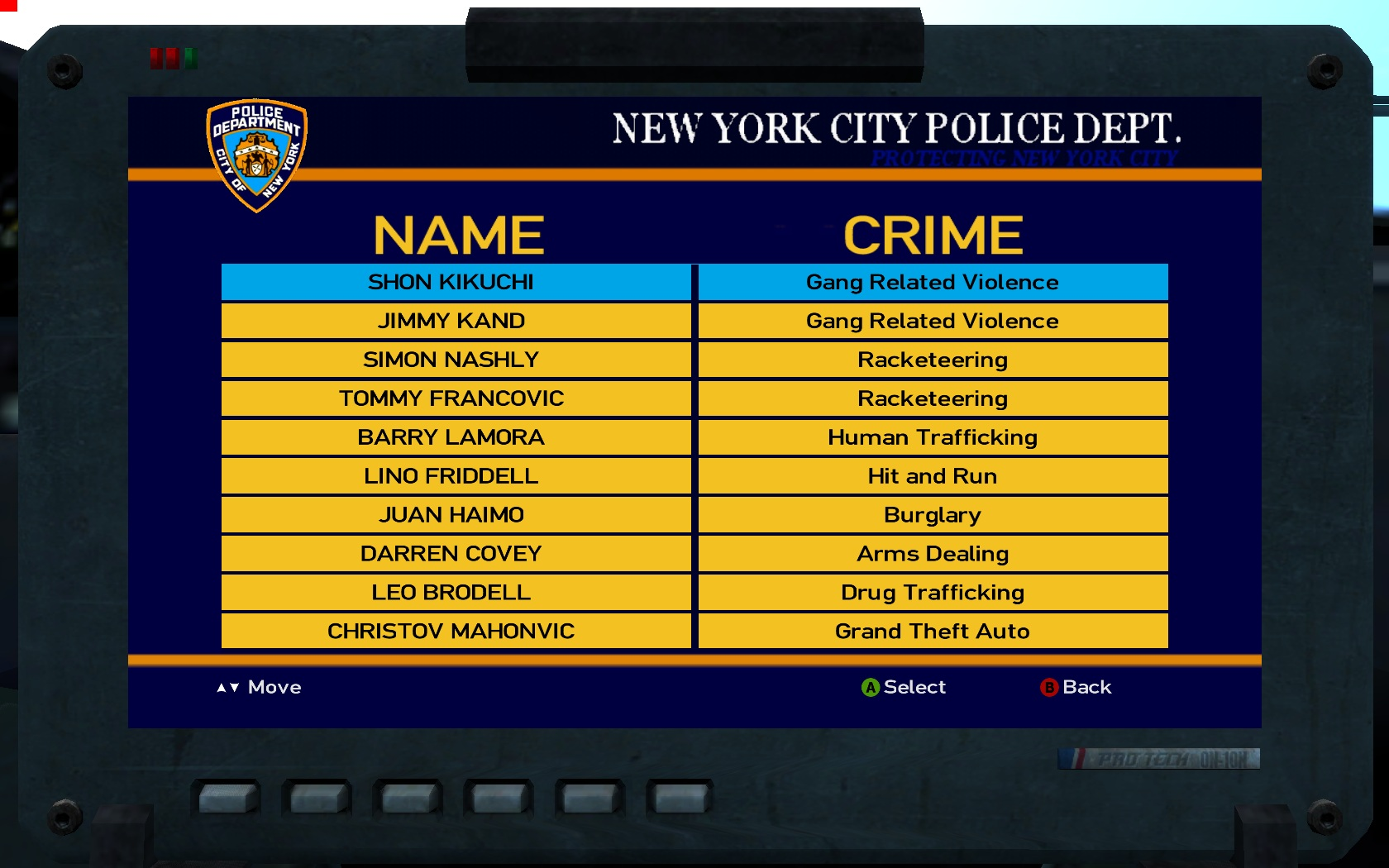 gtagarage nypd police computer view screenshot