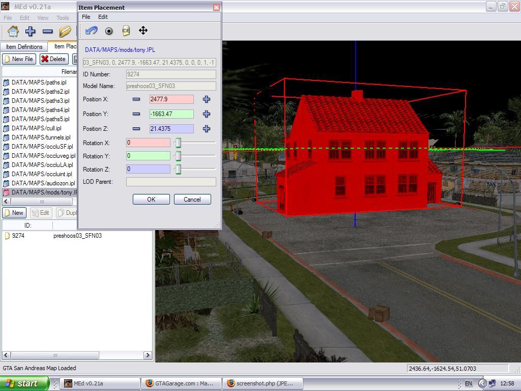 نرم افزار MapEditor 0.30 Beta برای بازی Gta SA!+(دانلود)
