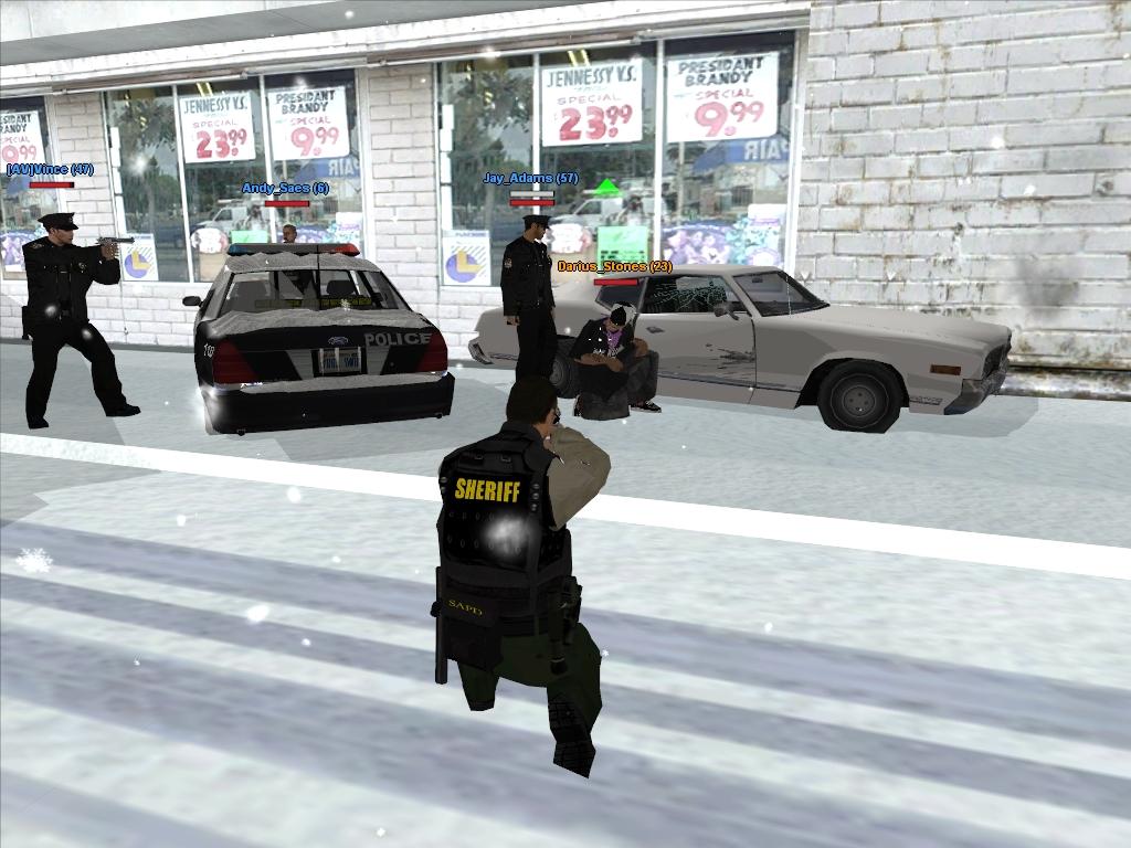 GTAGarage com » ARPD The Team Mod Winter Special Screenshots