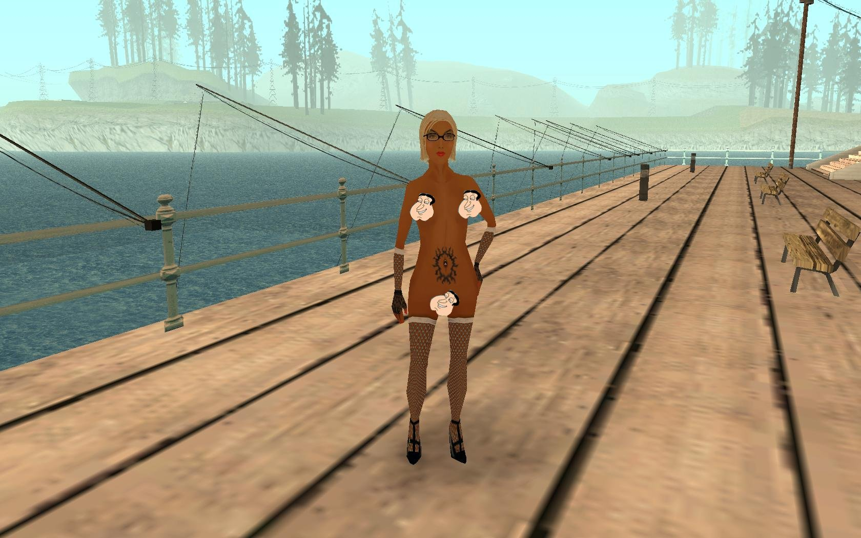 Gta san andreas nude girl skin erotic pictures