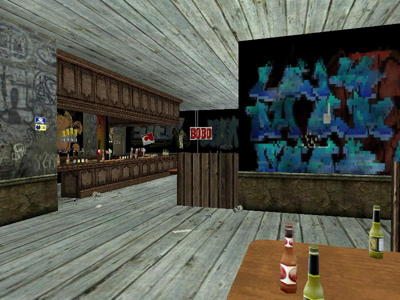 new gta sa bar interior screenshots. Black Bedroom Furniture Sets. Home Design Ideas