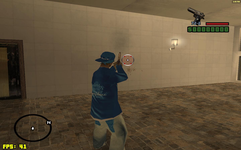 Gun, sound, crosshair, fist, radardisc, map ] gta sa mods.