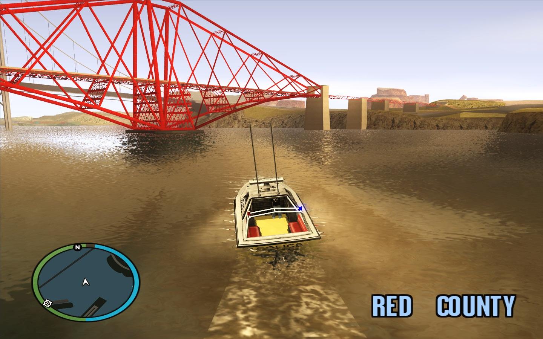 Gta iv water to sa view screenshot for Boat garage on water