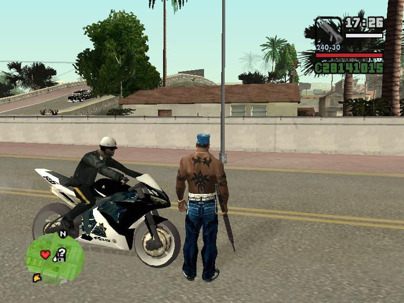 GTAGarage com » New Cop Bike! » View Screenshot