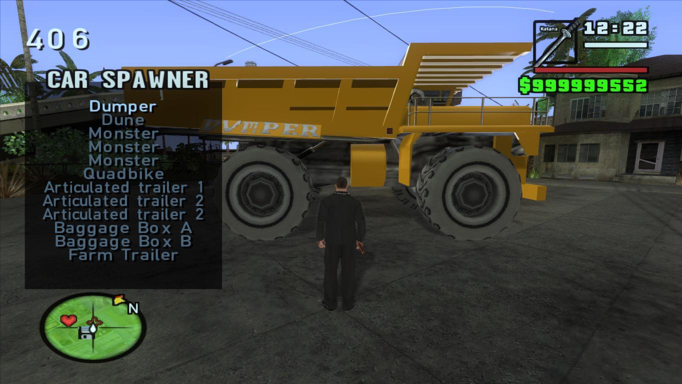 GTAGarage com » Car Spawner By Fastman92 » View Screenshot