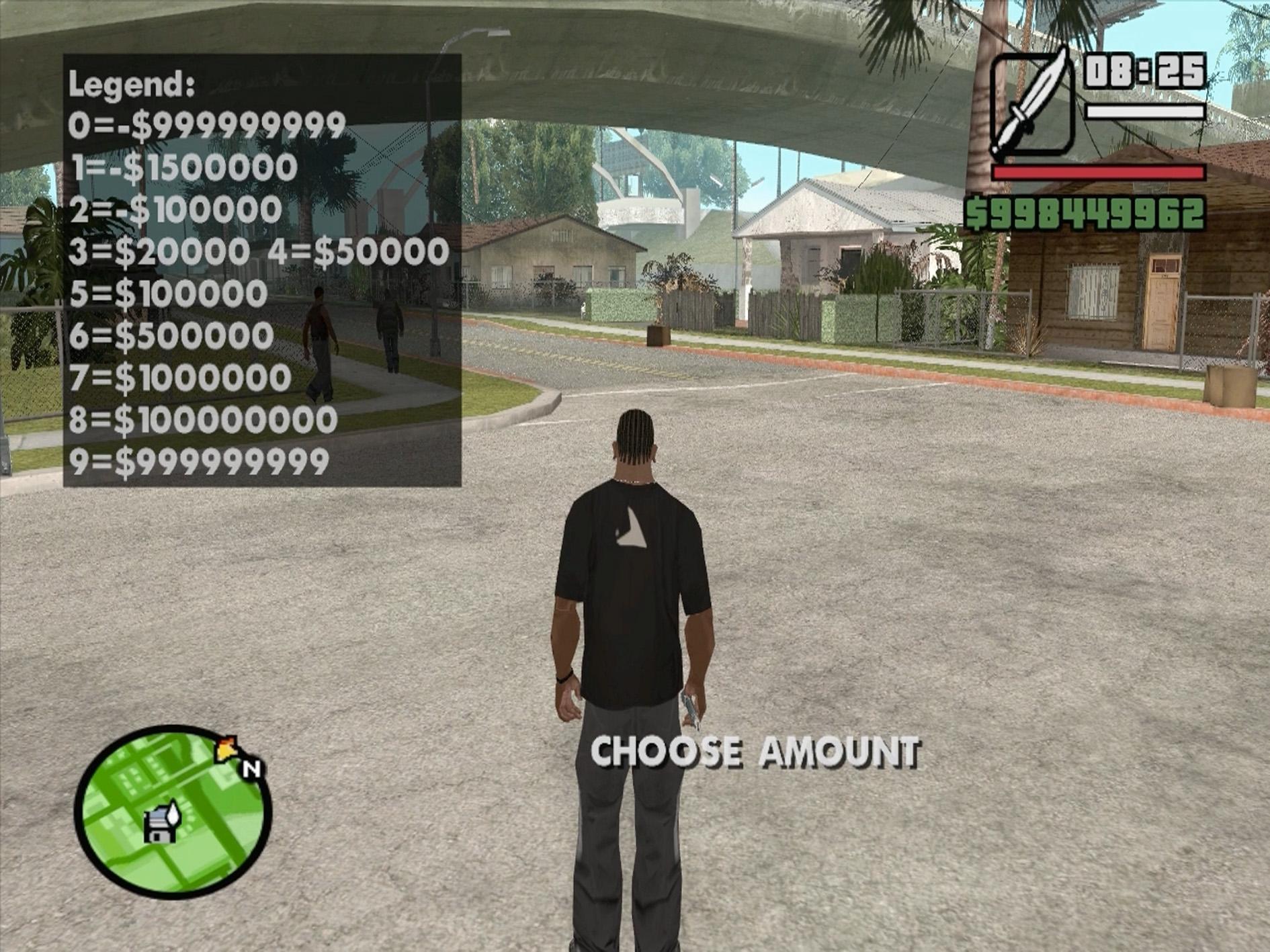 Как сделать в гта код на деньги