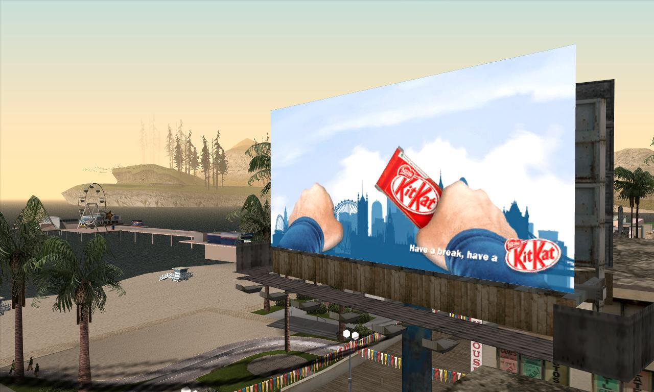 Gtagarage Com 187 San Andreas Billboards Screenshots